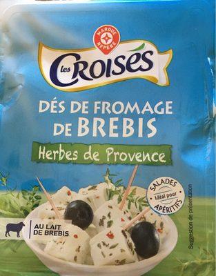fromage de brebis les crois s herbes de provence. Black Bedroom Furniture Sets. Home Design Ideas