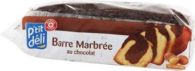Barre marbre chocolat - Produit
