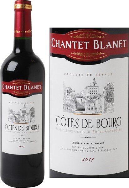 Côtes de Bourg A.O.C. 2017 - Product