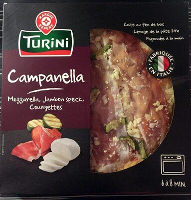 Pizza italienne jambon speck et mozzarella - Produit - fr