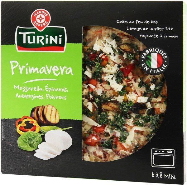 Pizza italienne légumes grillés - Produit - fr
