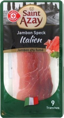 Jambon speck italien 9 tranches - Product - fr