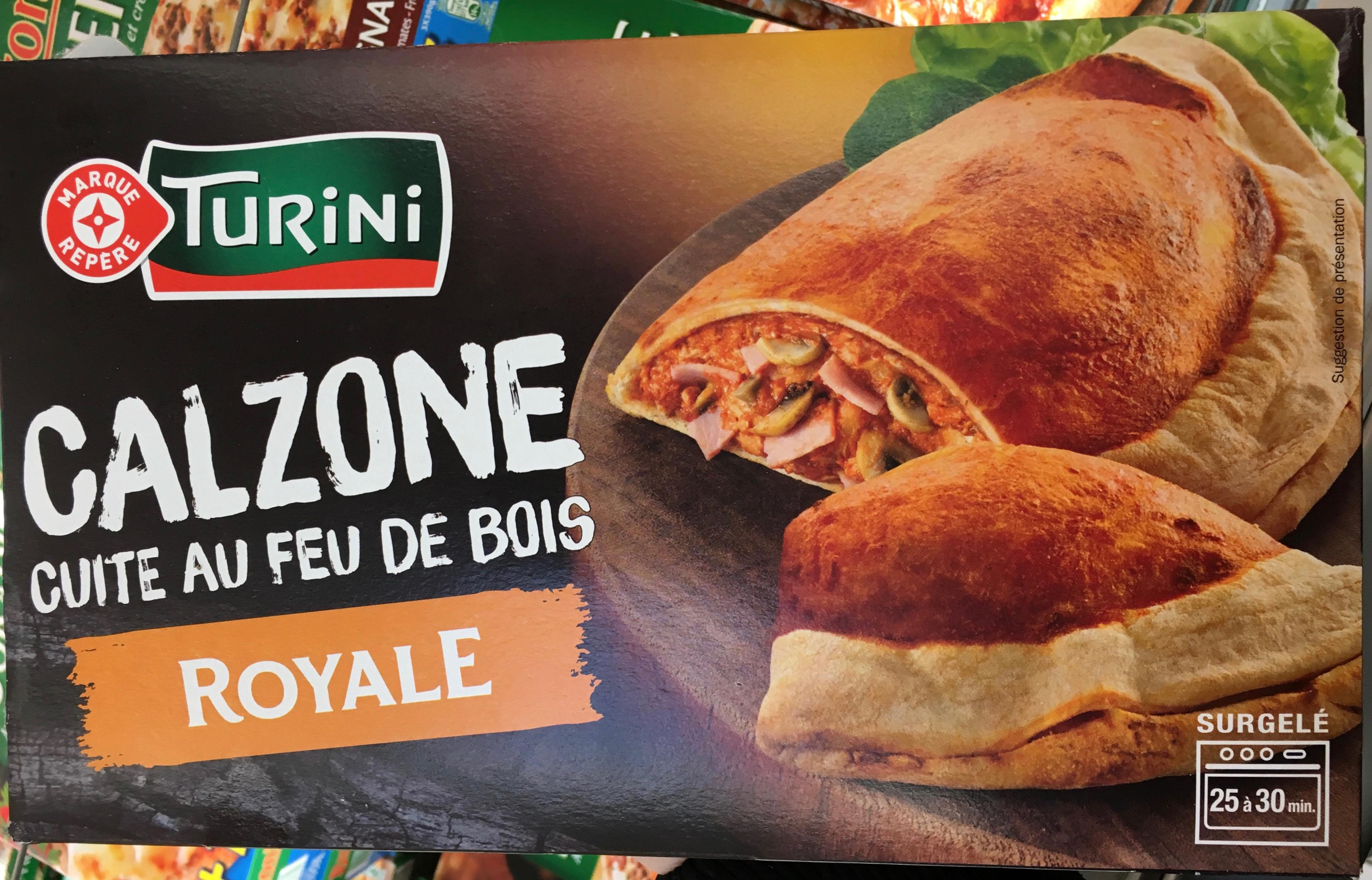 Pizza calzone royale - Produit - fr