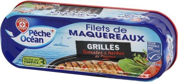 Filets de maquereaux grillés tomate et herbes de Provence - Produkt - fr