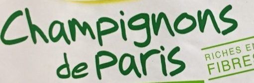 Champignons de Paris - Ingrédients
