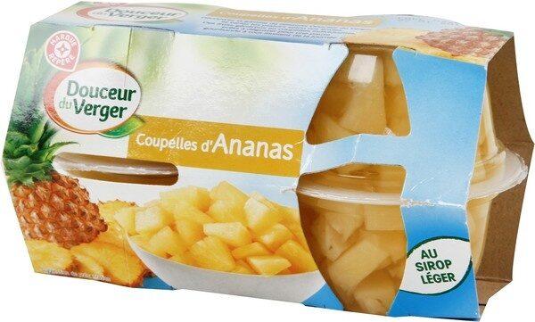 Coupelles ananas 4x70g pne - Produit - fr