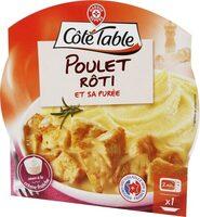 Poulet rôti et purée de pommes de terre - barquette - Produit - fr