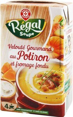 Velouté potiron fromage fondu - Produit - fr