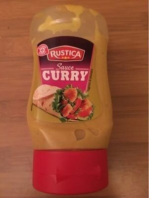 Sauce curry - flacon - Product - fr