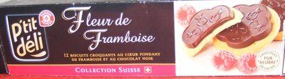 Fleur de framboise au chocolat noir - Product
