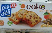 Cake au muesli et abricot - Product