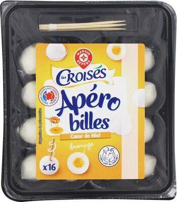 Billes de chèvre fourrées miel x 16 - Produit - fr
