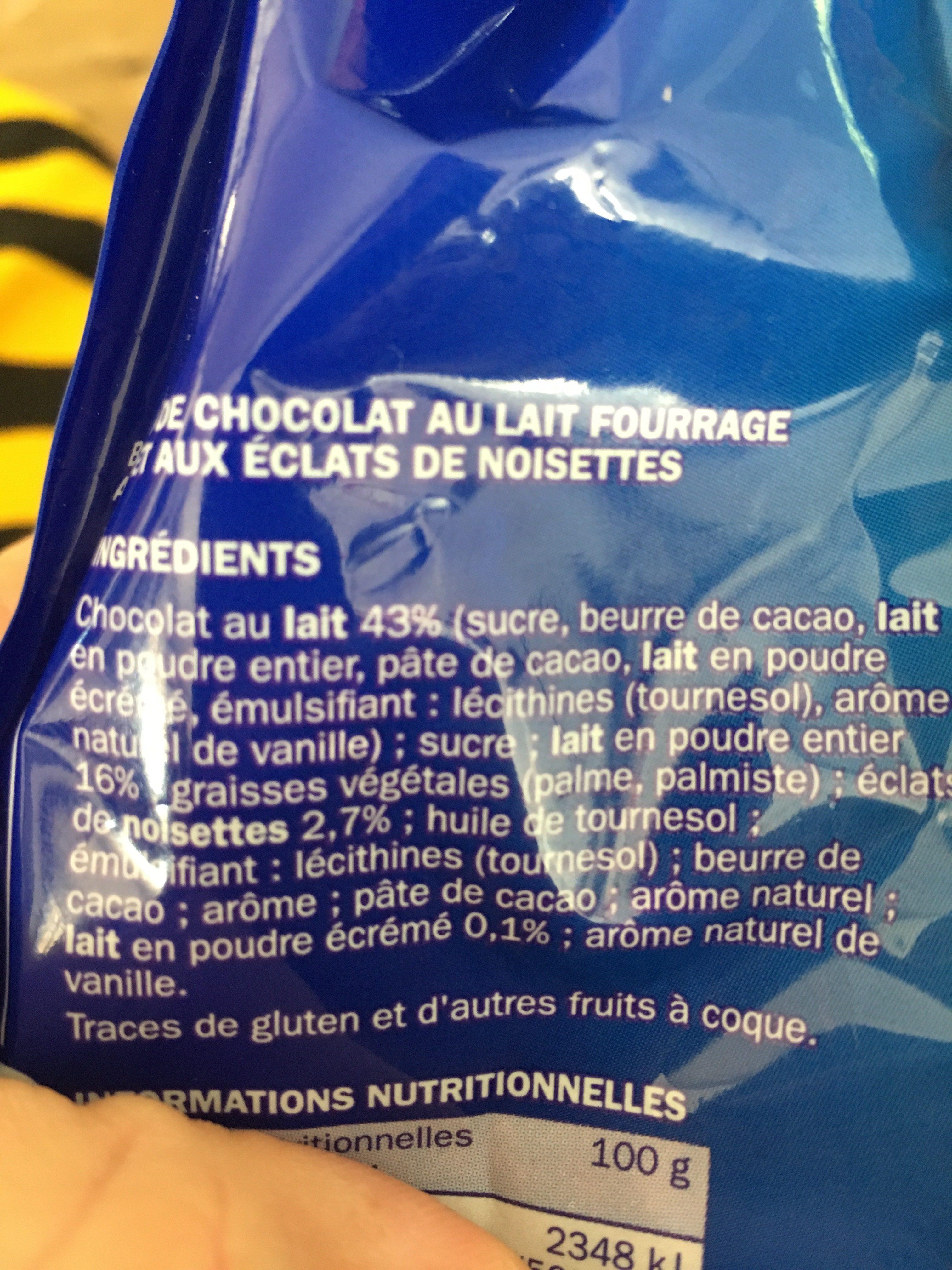 Choco Eggs - Ingredients