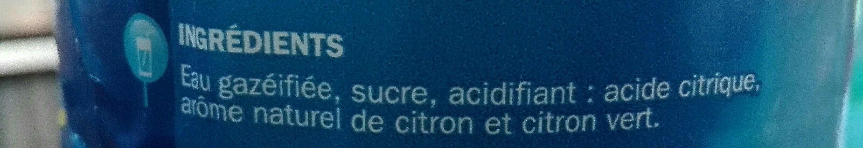 Limonade - Ingrediënten