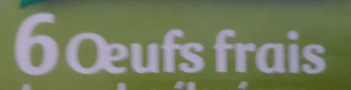 Oeufs plein air 3x6 - Ingredients