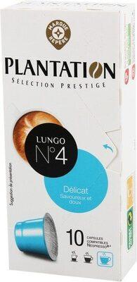 Capsules de café lungo x 10 - Produit - fr