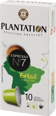 Capsules de café origine Brésil x 10 - Produit - fr