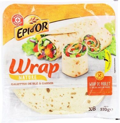 Wrap nature x 6 - Product - fr