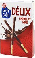 Bâtonnets torsadés chocolat noir - Prodotto - fr