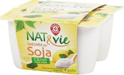 Spécialité au soja citron - Product - fr