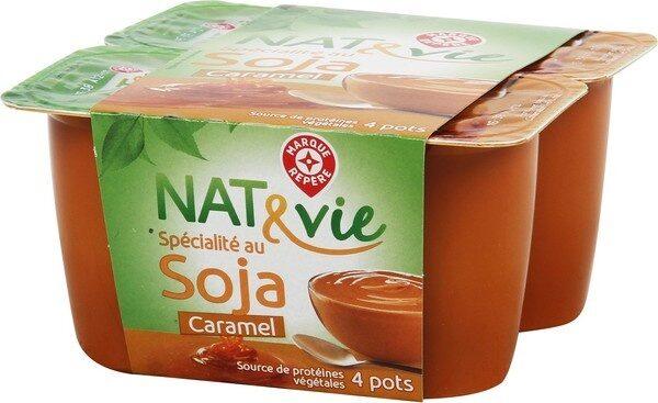 Spécialité au soja caramel - Produit - fr
