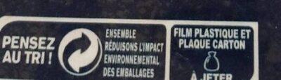 Truite fumée élevée en eau douce - Recycling instructions and/or packaging information - fr