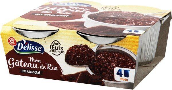 Gâteau de riz au chocolat - Produit