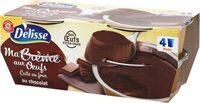 Crème aux oeufs au chocolat - Produit - fr