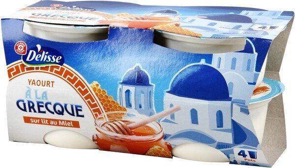Yaourt à la grecque sur lit de miel - Product - fr