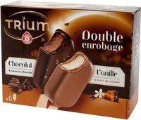 Mini trium vanille ou chocolat double enrobage x 6 - Product - fr