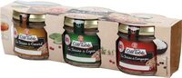 Assortiment de 3 terrines : campagne, canard à l'Armagnac et lapin aux herbes - Product