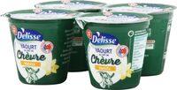 Yaourt au lait de chèvre vanille - Product