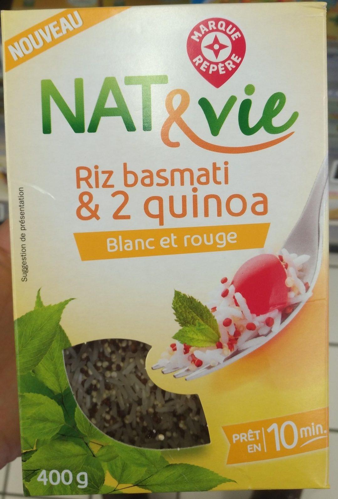 Riz Basmati & 2 Quinoa - Produit