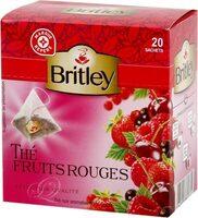 Thé noir fruits rouges x 20 sachets - Produit