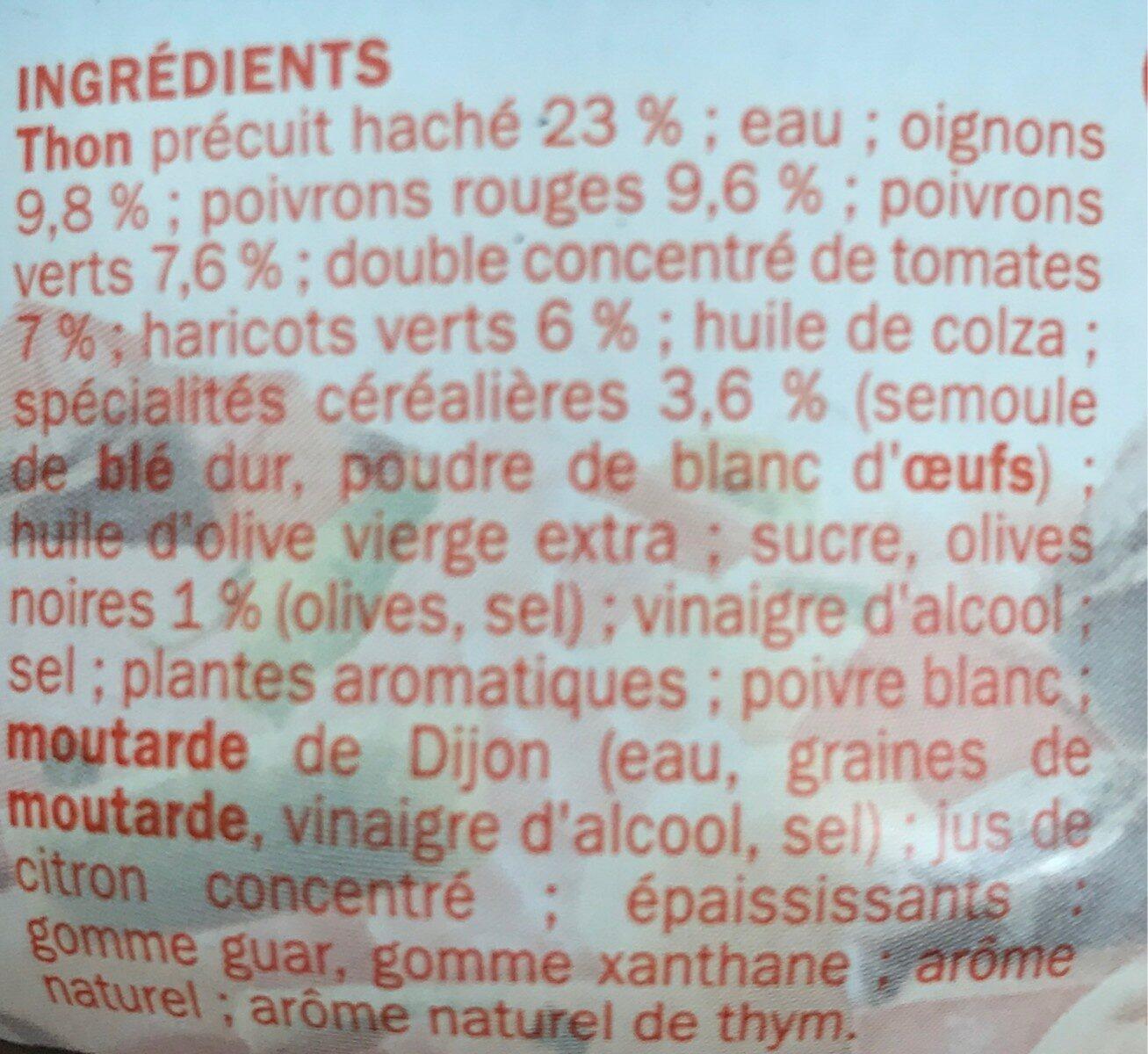 Salade catalane au thon - Ingredients - fr