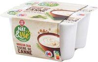 Spécialité au soja au sucre de canne - Product - fr