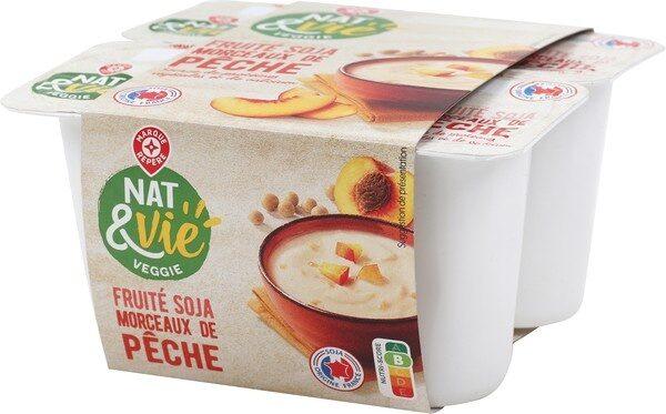 Spécialité au soja pêche - Produit - fr