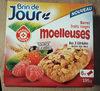 Barres fruits rouges moelleuses aux 3 céréales - Produit