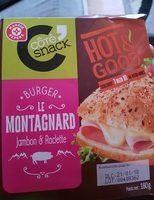 Burger Le Montagnard jambon et raclette - Produit - fr