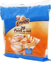 Pains au lait x 20 - format familial - Produit