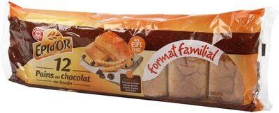 Pains au chocolat x 12 - format familial - Product - fr