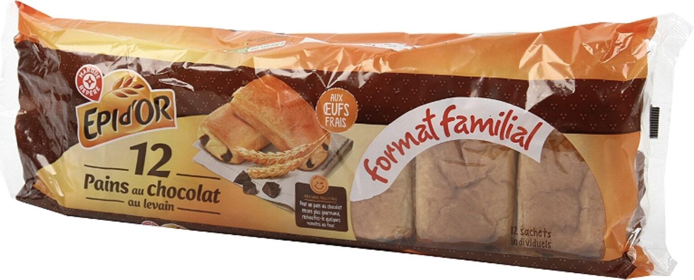 Pains au chocolat x 12 - format familial - Producto - fr