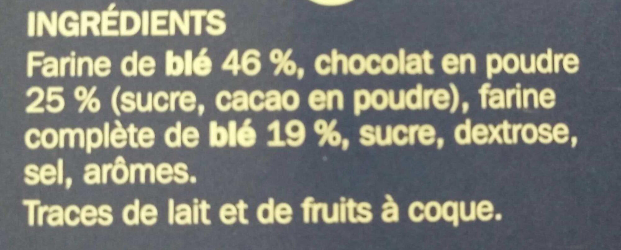 Pétales de blé au chocolat - Ingrédients - fr