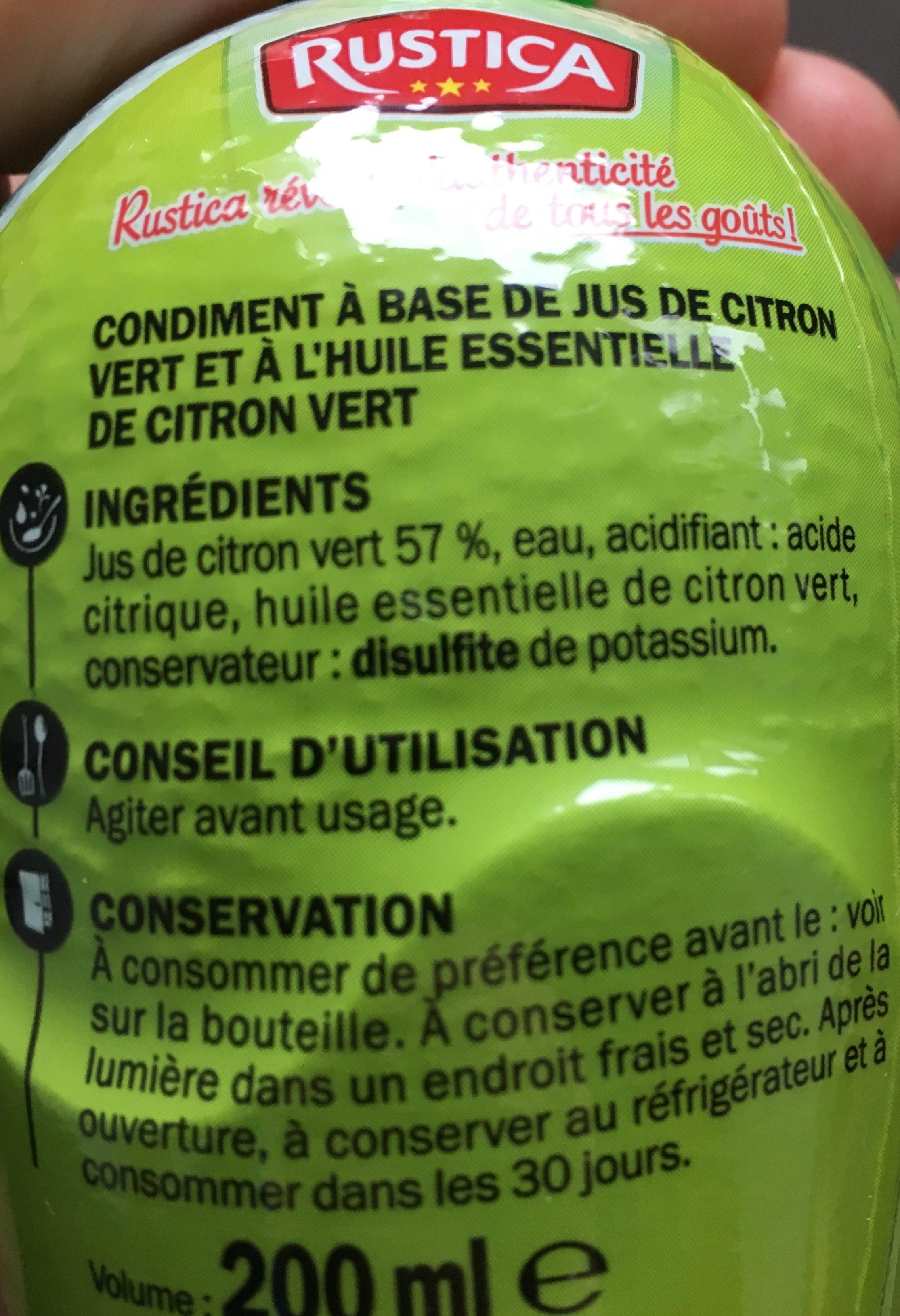 Citron Vert Rustica