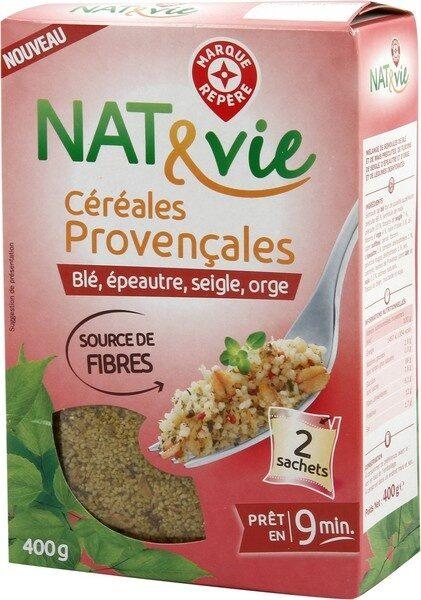 Céréales provençales (blé, épeautre, seigle et orge) x 2 sachets - Produit - fr
