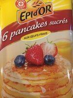 Pancakes sucrés surgelés x 6 - Produit - fr