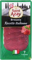 Bresaola italienne 7 tranches - Produit
