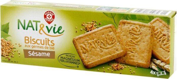 Biscuits aux germes de blé et sésame - Product