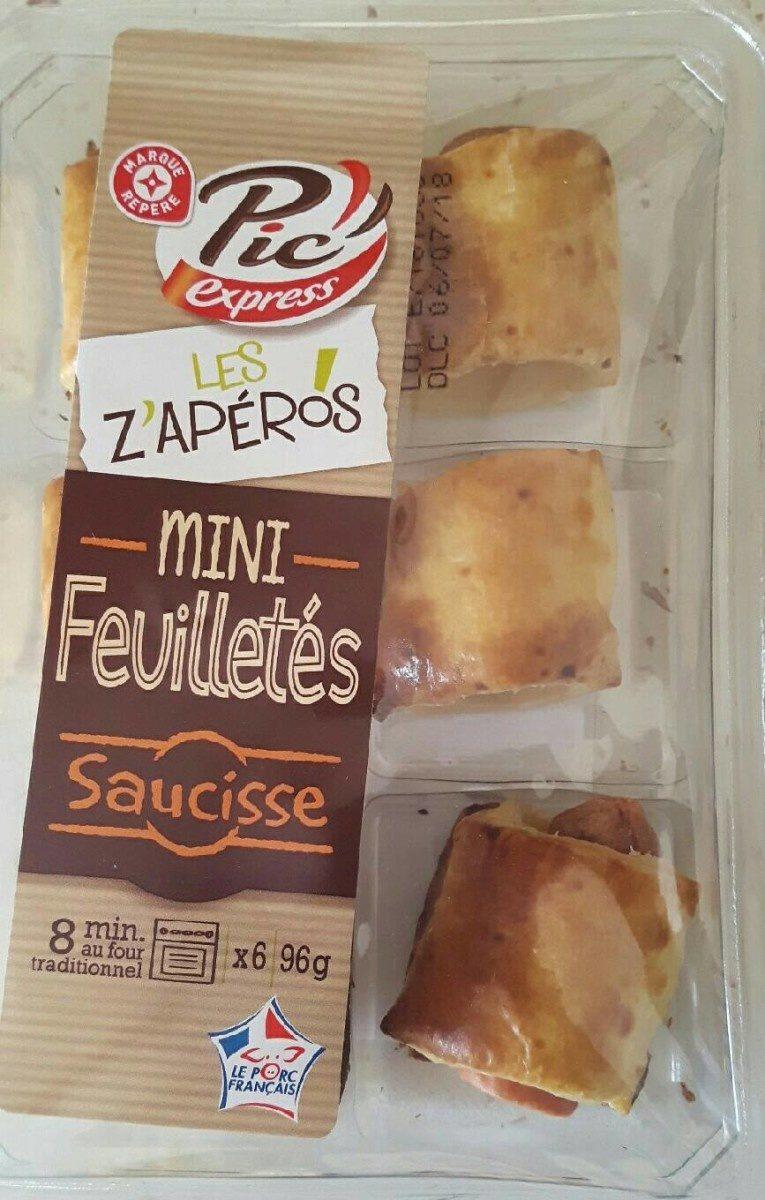 Mini feuilletés saucisse - Produit - fr