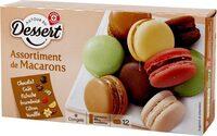Assortiment de macarons x 12 - Product - fr
